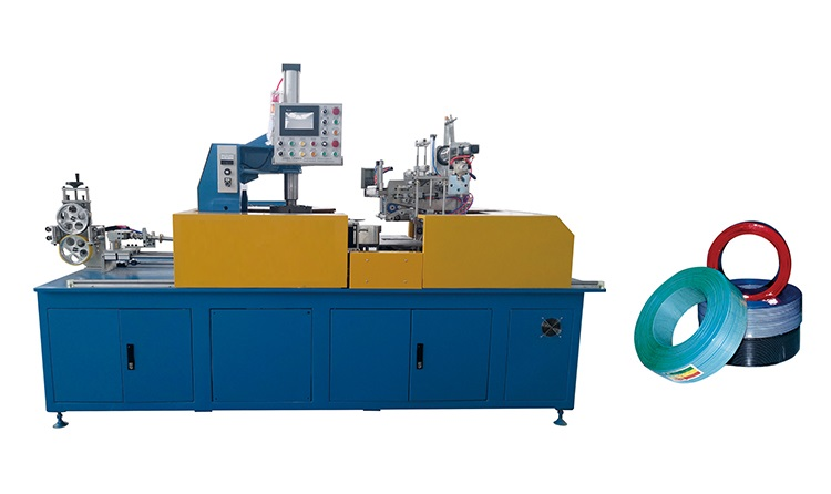 automatic cable coiling packing machine