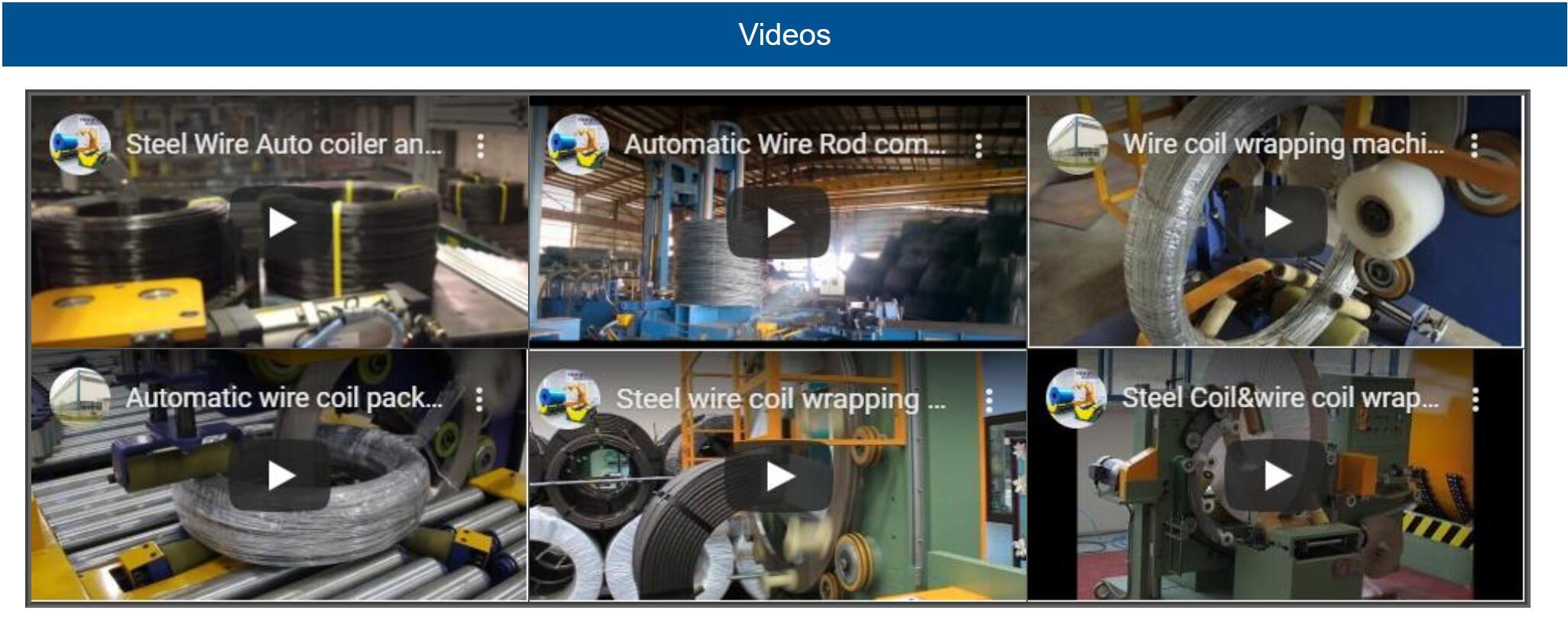 wire packing machine videos